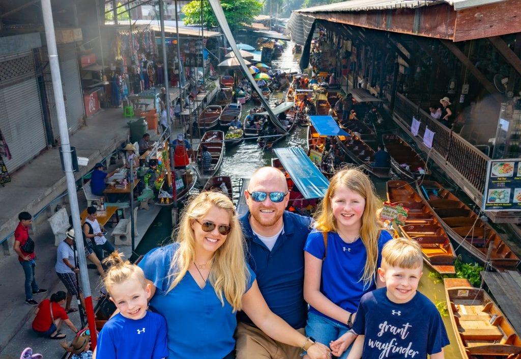 Family trip to Bangkok, Thailand