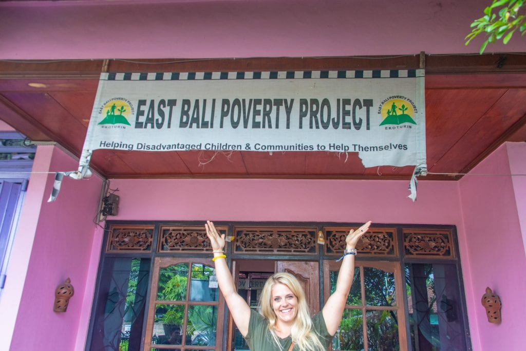 East Bali Poverty Project- where we volunteered during our Bali trip