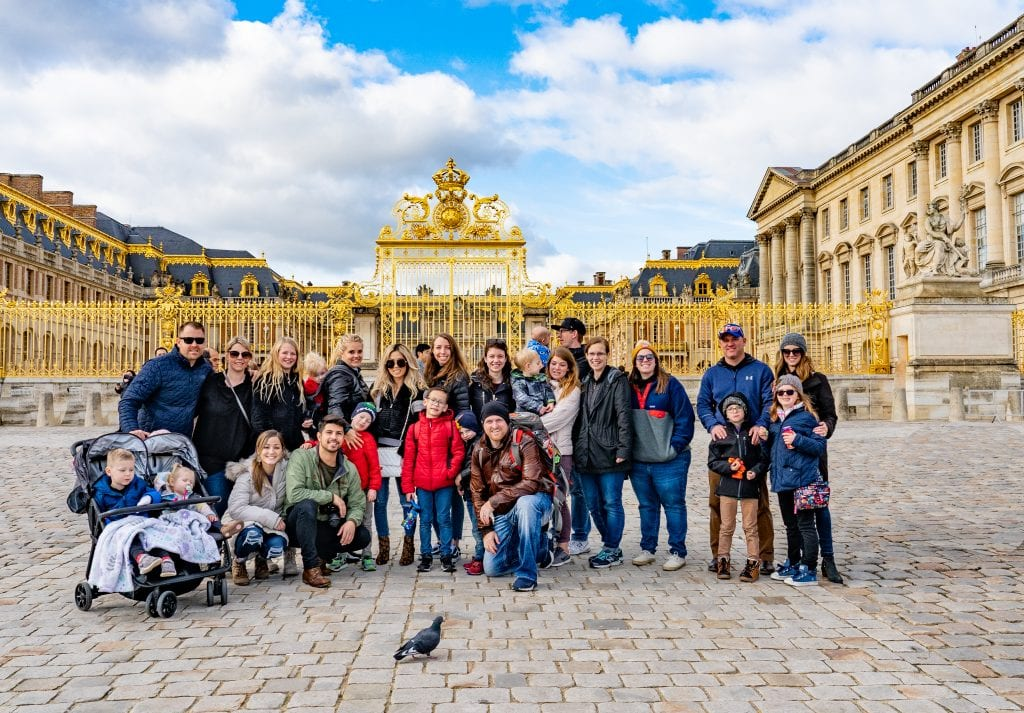Our company vacation to Paris